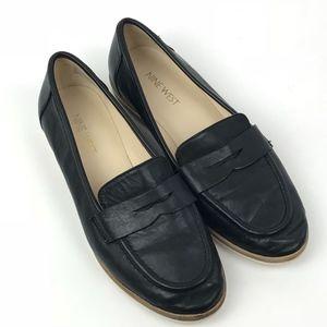 Nine West Antonecia Loafer Flat Black Size 7